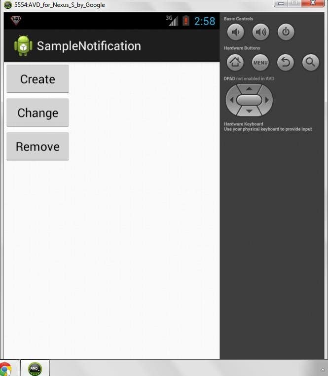 Entry #15 by vidyach for Android Notification Source Code for all