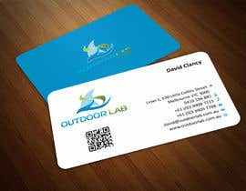 #91 cho Design some Business Cards for Outdoor Lab *UPDATE* bởi ezesol