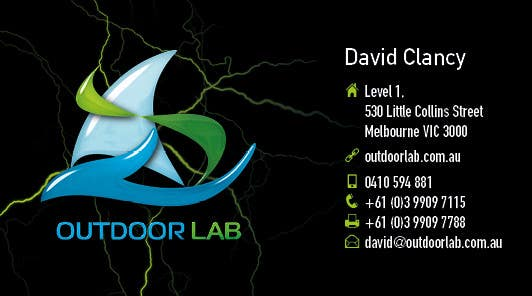 Bài tham dự cuộc thi #65 cho Design some Business Cards for Outdoor Lab *UPDATE*