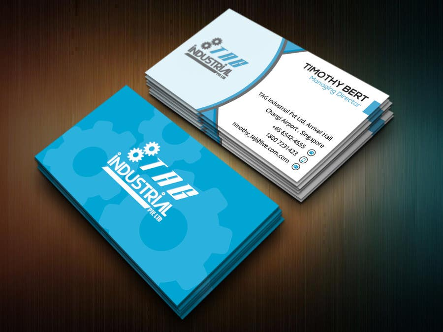 Entry 29 By Nasir34 For Business Card Design For Robotics Start Up