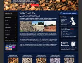 #14 for Design a Website Mockup for Marchington Stone af aleksejspasibo