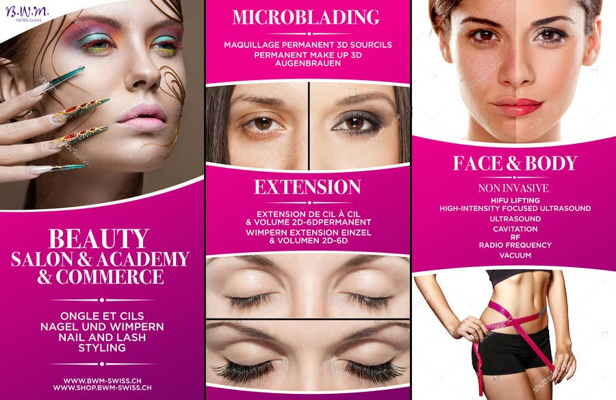 Contest Entry 34 For Design A Beauty Salon Banner