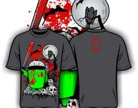 nº 12 pour Design a Tee for Android Halloween par iYNKBRANE
