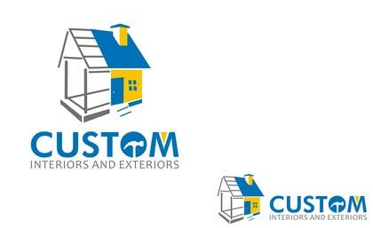 nº 75 pour Design a Logo for Custom Interiors and Exteriors par nomi2009