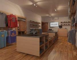 #12 untuk Interior design of men's clothing and shoe store oleh Vladu11