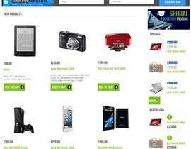 Nro 38 kilpailuun Website Mockup käyttäjältä UmeSake