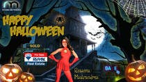 Contest Entry #20 for Design a Halloween postcard for a real estate agent