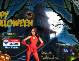 #20 for Design a Halloween postcard for a real estate agent af annahavana