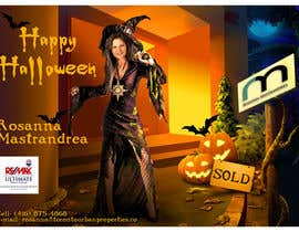 #15 untuk Design a Halloween postcard for a real estate agent oleh Spector01