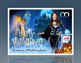 #23 untuk Design a Halloween postcard for a real estate agent oleh Spector01