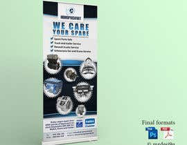 #43 for Design a roll up Banner by MrDesi9n