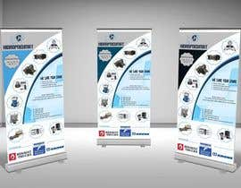 #36 para Design a roll up Banner de samiku06