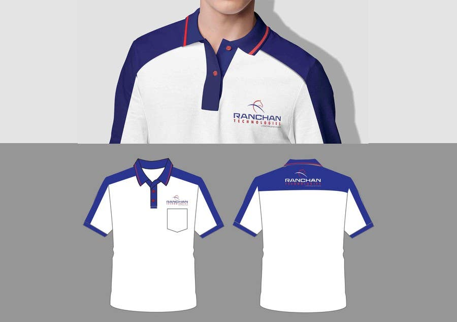 45878ac6 Contest Entry #8 for Design a corporate polo T-Shirt for company uniform