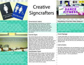 #19 , Design a Brochure for a Sign Company 来自 madalinarpadurar