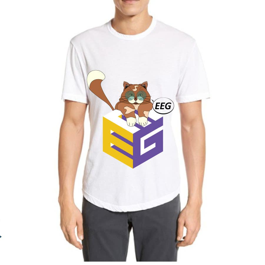 #30. pályamű a(z)  EEG Nation Design Two T-Shirt versenyre