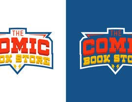 #40 para Logo design for Comic Books Store de bujarluboci