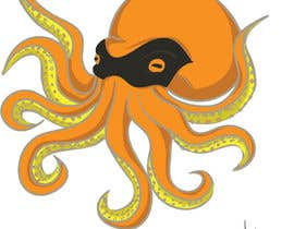 #2 για Design a bandit mask wearing octopus! από haydenknarumi
