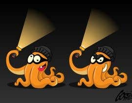 #5 για Design a bandit mask wearing octopus! από atanasovskigorgi