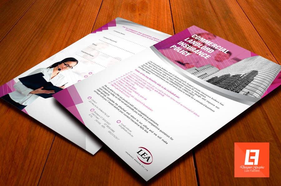 Конкурсна заявка №11 для Design a Flyer for Insurance