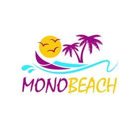 """#8 para design a logo for """"monobeach"""" de abdulbari25ab"""