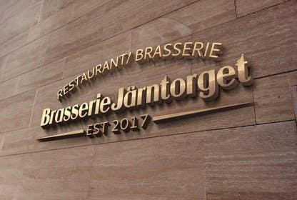 #15 para Designa en logo for restaurant/ brasserie de DarinaVasileva