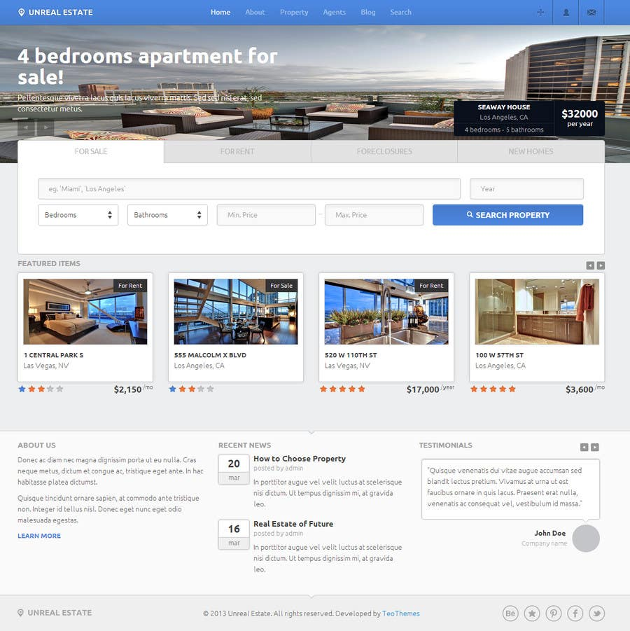 #14 for Build a Website for www.Commercialmls.net real estate website by flashraj