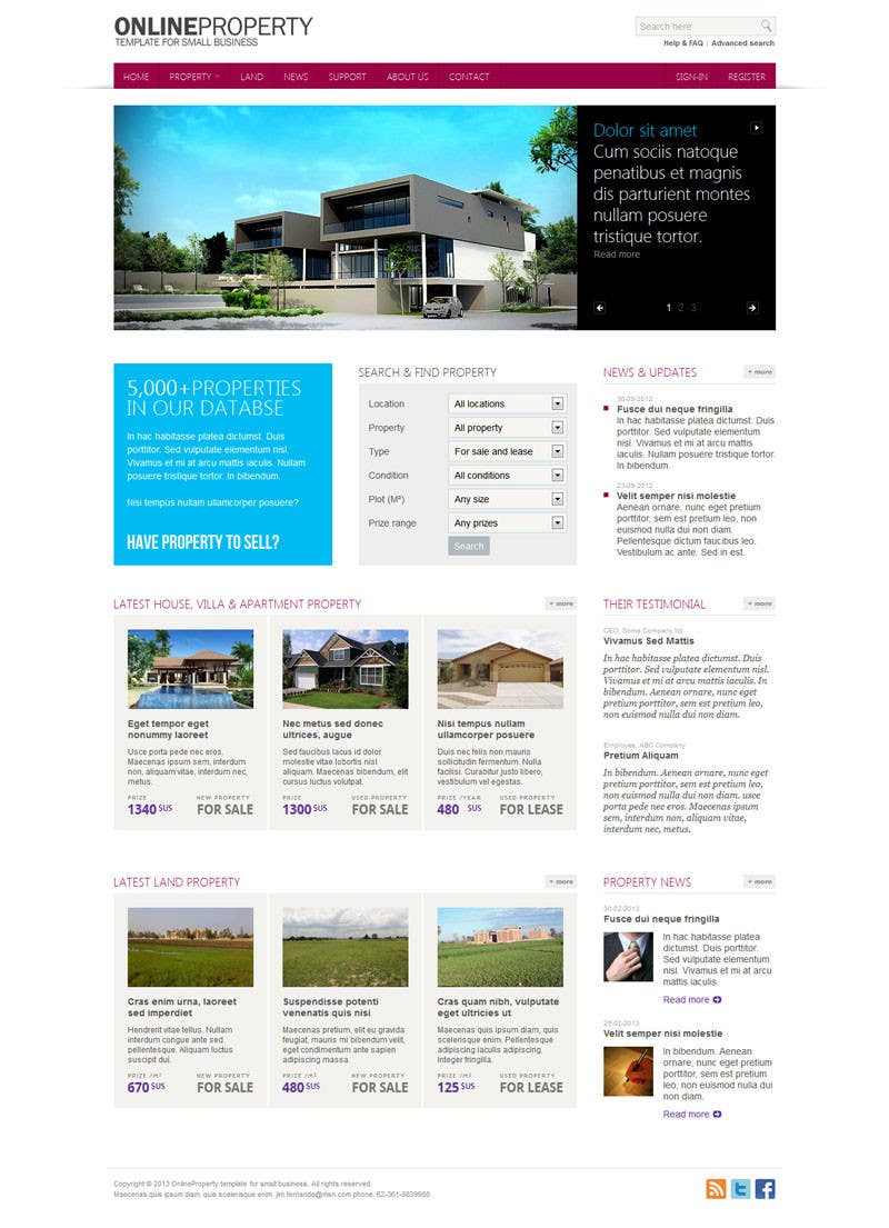 #4 for Build a Website for www.Commercialmls.net real estate website by JimFernando