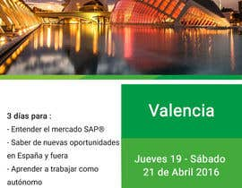 #11 for Design a Flyer for a company event in Valencia by DesignerRita