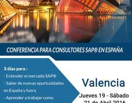 #13 for Design a Flyer for a company event in Valencia by DesignerRita