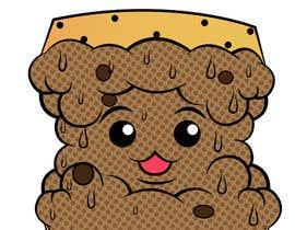 #33 for Cookie iceacream sandwich logo designed. In pop art/ comic theme by Bateriacrist