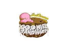 #27 for Cookie iceacream sandwich logo designed. In pop art/ comic theme by draganajovic