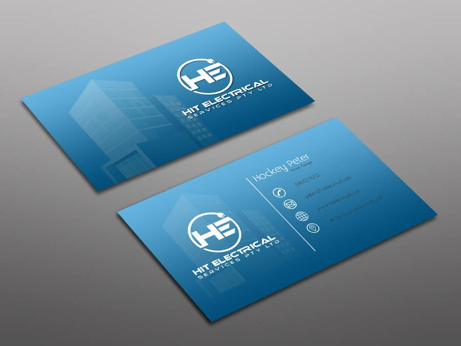 Contest entry 113 for design some business cards stickers magnet