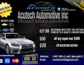#14 untuk Design a Flyer for automotive repair shop 4x6 oleh dindinlx