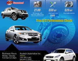 #18 for Design a Flyer for automotive repair shop 4x6 by Pixaart