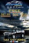 Contest Entry #10 for Design a Flyer for automotive repair shop 4x6