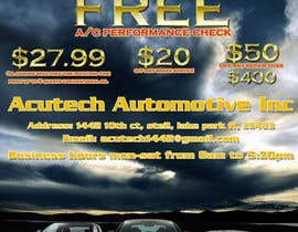 #12 for Design a Flyer for automotive repair shop 4x6 by rogeriolmarcos