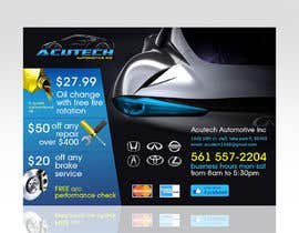 #7 untuk Design a Flyer for automotive repair shop 4x6 oleh Spector01