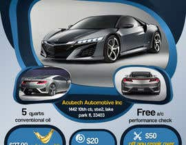 #24 cho Design a Flyer for automotive repair shop 4x6 bởi Artimization
