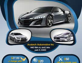 #25 untuk Design a Flyer for automotive repair shop 4x6 oleh Artimization