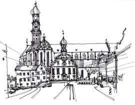 #19 cho B&W Pen & Ink Drawings of Cityscapes Wanted bởi axxlight