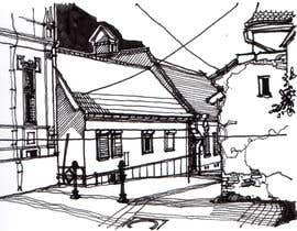 #25 cho B&W Pen & Ink Drawings of Cityscapes Wanted bởi axxlight