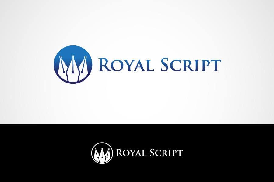 Inscrição nº                                         160                                      do Concurso para                                         Logo Design for Stationery Packaging - Royal Script