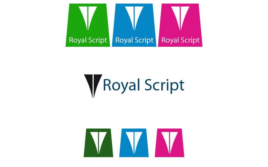 Inscrição nº                                         122                                      do Concurso para                                         Logo Design for Stationery Packaging - Royal Script