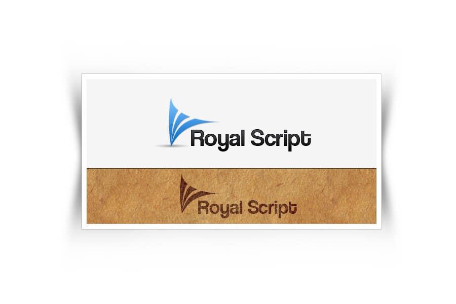 Inscrição nº                                         38                                      do Concurso para                                         Logo Design for Stationery Packaging - Royal Script