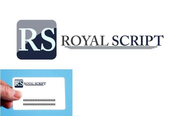 Konkurrenceindlæg #16 for Logo Design for Stationery Packaging - Royal Script