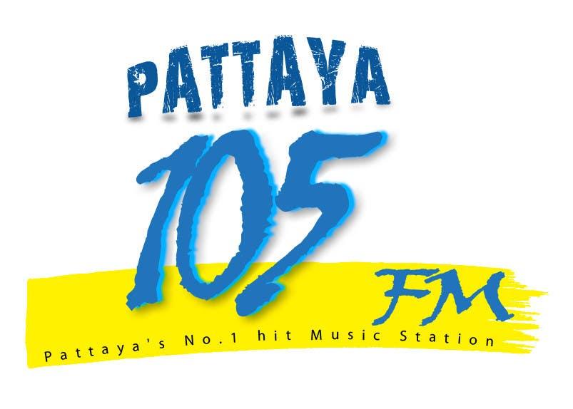 Proposition n°5 du concours Design a Logo for Pattaya 105FM