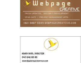 nº 23 pour WEBPAGECREATIVE-BUSINESS!!!CARDS par mayankjp