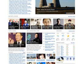 #43 para Website Design for TodayChina.TV por dragnoir
