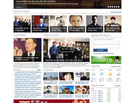 dragnoir tarafından Website Design for TodayChina.TV için no 35