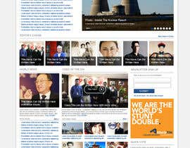 dragnoir tarafından Website Design for TodayChina.TV için no 31